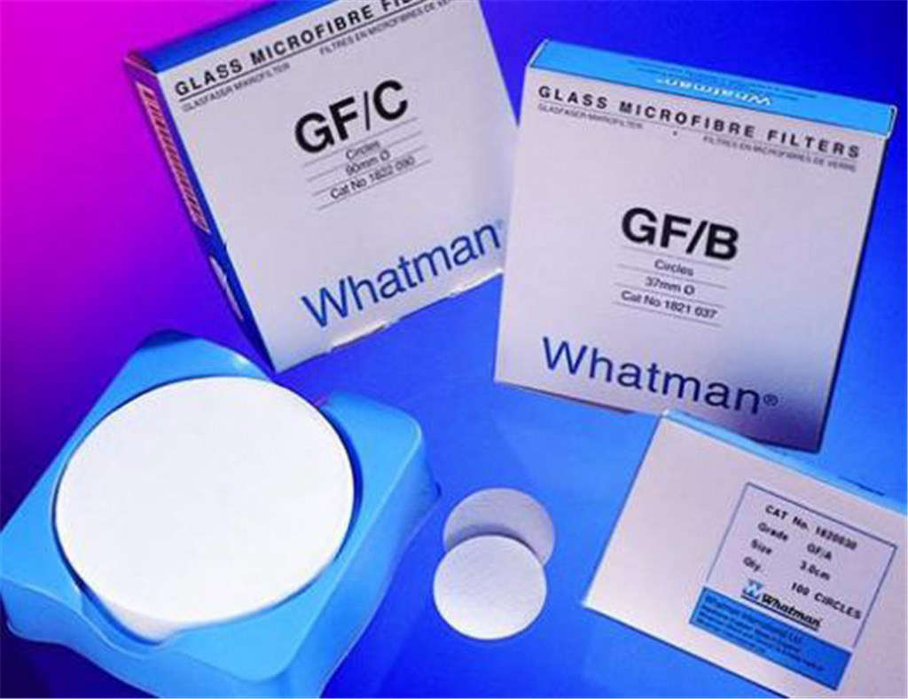Filter-ark Whatman GF/B, pk a 25 stk., 460x570 mm