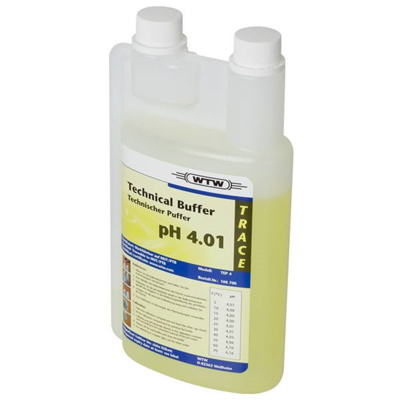 WTW teknisk buffer, gul, 1000 ml, pH 4,01 ±0,03