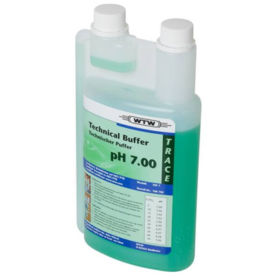 WTW teknisk buffer, grøn, 1000 ml, pH 7,00 ±0,03