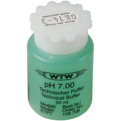 WTW teknisk buffer, grøn, 50 ml, pH 7,00 ±0,03