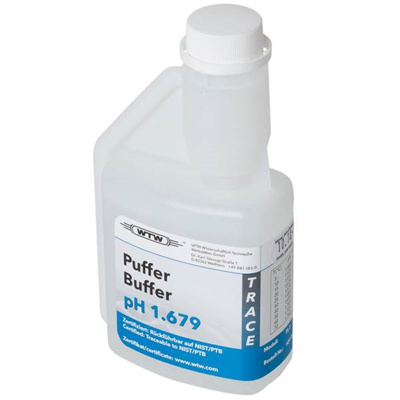 WTW DIN buffer, klar, 250 ml, pH 1,679 ±0,02