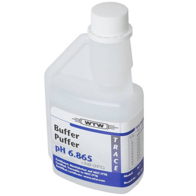 WTW DIN buffer, klar, 250 ml, pH 6,865 ±0,02