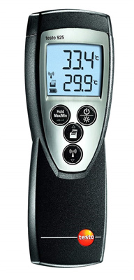 Testo 925 digitaltermometer type K, -50 - 1000°C