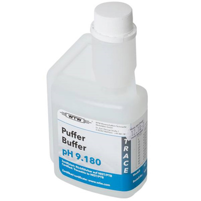 WTW DIN buffer, 250 ml, pH 9,180 ±0,02