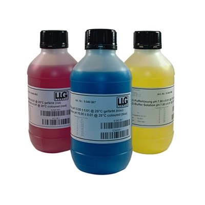 LLG buffer, rød, 1000 ml, pH 4,00 ±0,01